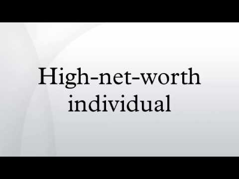 High-net-worth individual