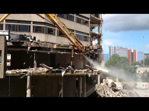 Yorkshire Post Building Demolition #3