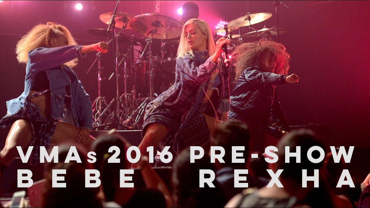 Bebe Rexha Live! | MTV VMAs 2016 Pre-Show (HD)