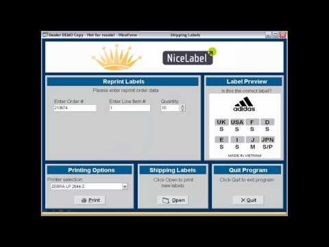 Deploy NiceLabel for Retail Label Printing