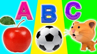 A for Aeroplane | ABCD | Kids alphabet | A for apple | Phobic song Kids abcd | B for ball, C for cat