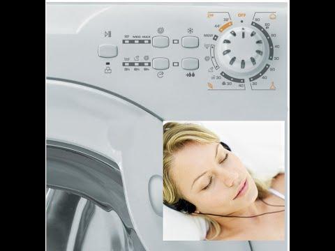 Sound Washing Machine - White Noise - Lavatrice Candy GO F106 - Suono Bianco - Sonno Addormentarsi
