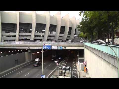 Omar & Paris- Parc de Prince (PSG Stadium)
