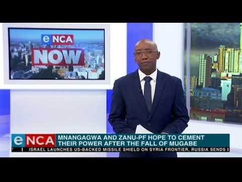 Survey shows close call between Mnangagwa, Chamisa