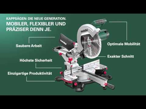 Metabo Kappsägen - Die neue Generation (German) (Langversion)