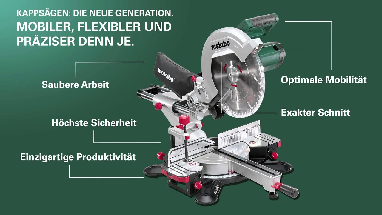 metabo kappsägen - die neue generation (german) (langversion) - youtube