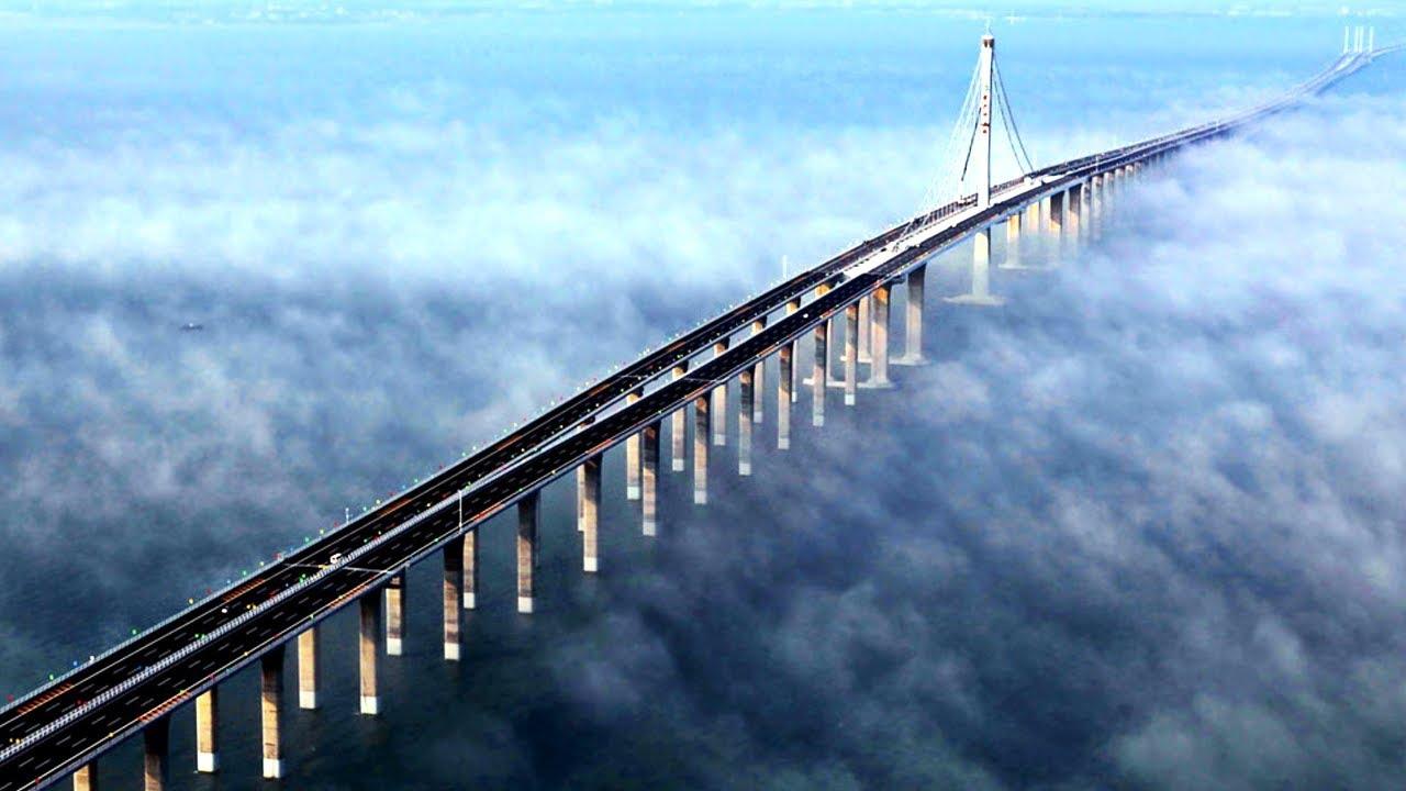 15 Scariest Bridges In The World HD (720p)
