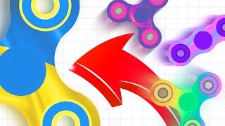 FIDGETSPINNERS.io | World Record SPINZ.io Slither.io With Fidget Spinners