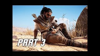 Assassin's Creed Origins Walkthrough Part 3 - Bayek's Promise (Let's Play Commentary)