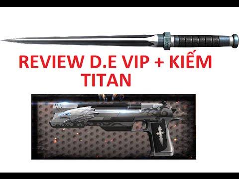 Bình Luận Truy Kich   Review D.E Vip + Kiếm Titan Vs Zombie - Hết Cá ✔