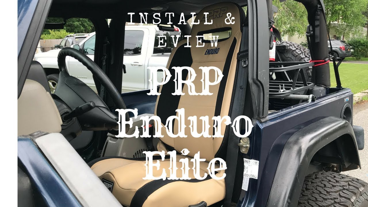 PRP Seats install & review \\ Daily Driven 03 TJ - YouTube