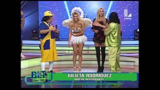 Julieta Rodríguez y la reacción de los chicos de BLT