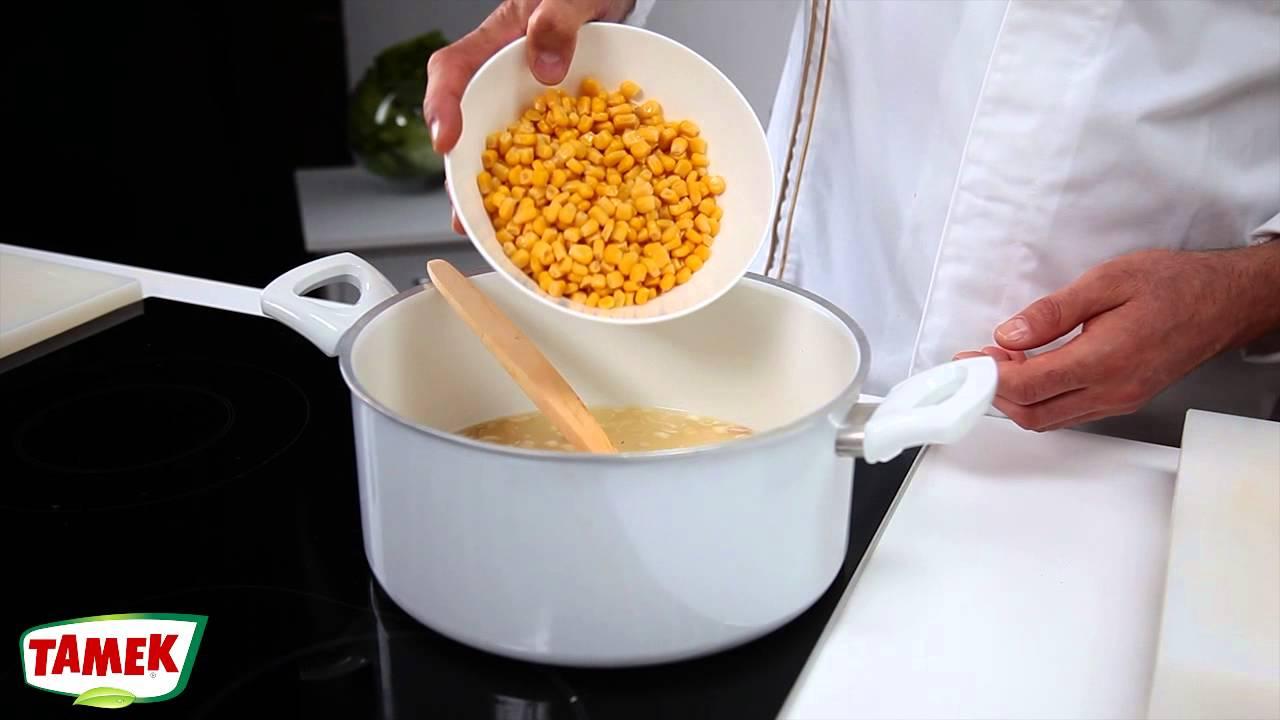 Taneli Mısır Çorbası
