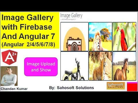Image Gallery With Firebase in Angular 7 | Image Gallery using Firebase in angular 7 thumbnail