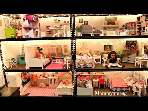 Huge american girl doll house new 2016 doll house for American house music