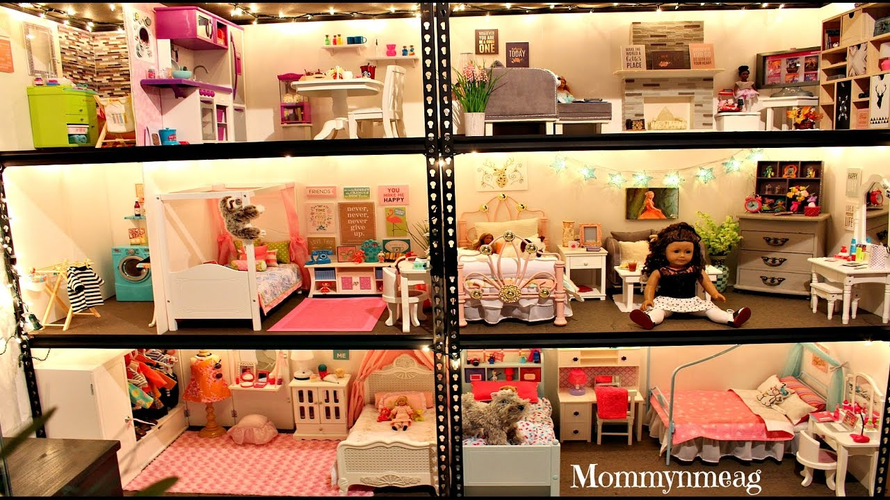 Huge American Doll House New 2016 Tour Mommyn Meag