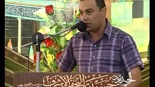 الشاعر انيس معله مولد الامام علي (عليه السلام) الحسينية النجفية مشهد 1434هـ