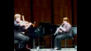 Bruch Trio for Viola, Clarinet, and Piano No. VI Nachtgesang