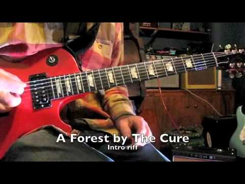 A Forest - The Cure - Guitar Tutorial - riff & chords