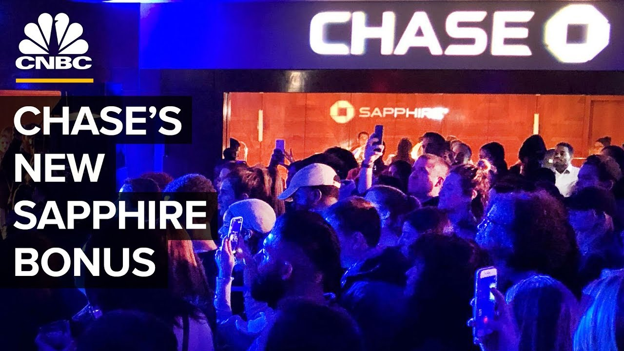 Chase's New Sapphire Checking Account   CNBC - TradingETFs com