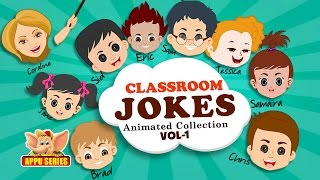 Funny Classroom Jokes - Animated Collection Vol - 1
