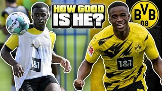 How GOOD Is Dortmund's 16 Year Old WONDERKID Youssoufa Moukoko ACTUALLY?