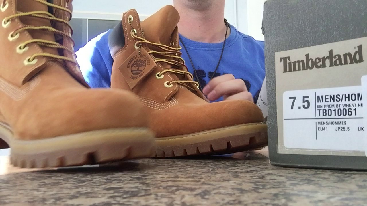 4b0ef3d7ea Timberland Yellow boot 6 Unboxing - Brasil - YouTube