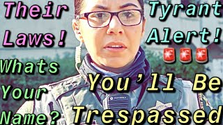 Female Tyrant Can't Let Go Of Her Ego To Get Us Illegally Charged-1st Amendment Audit #KC