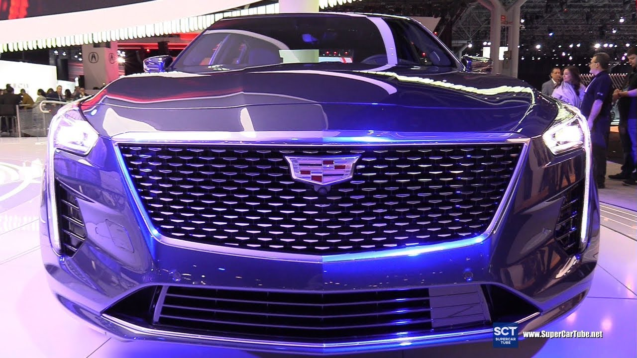 2019 Cadillac Ct6 3 0tt Awd Exterior And Interior Walkaround Debut 2018 New York Auto Show