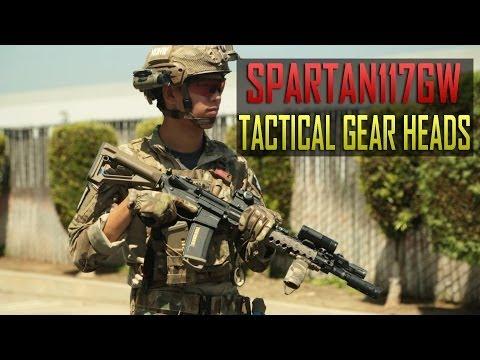 Spartan117GW Tactical Gear Heads -  Assault on Antioch Loadout - Airsoft GI