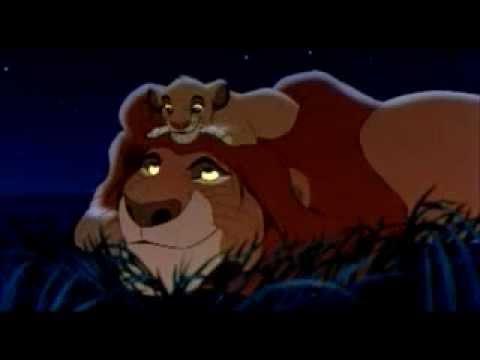 Lion King Mufasa and Simba English) - YouTube