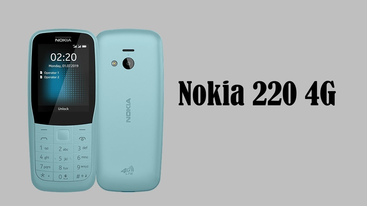 Nokia 220 4G Feature Phone Release Date , Specs & Price in