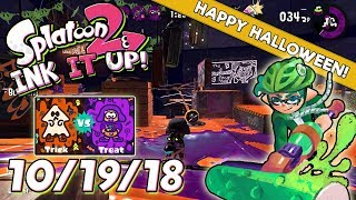 Splatoon 2 - Ink It Up! 10/19/18! Ink or Treat!