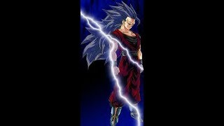 Goku goes Super Saiyan 7!