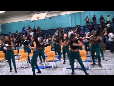 Southwest Edgecombe High School Band playing Velvet Rope 2015