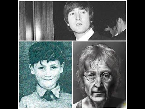 Cantantes famosos  -  el antes y despues de John Lennon