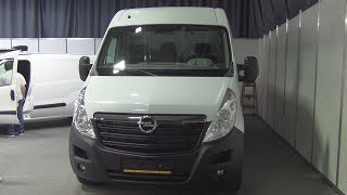 Opel Movano L3H2 2.3 CDTI Exterior and Interior