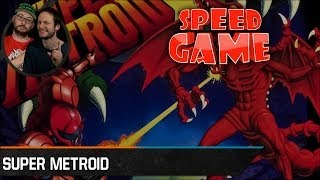 Speed Game - Super Metroid - Fini en 55 minutes
