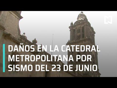Catedral Metropolitana de la Ciudad de México dañada por el sismo del 23 de junio de 2020 - En Punto