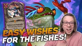 All I Want Is Easy Wishes for the Fishes! | Hearthstone Battlegrounds | Savjz