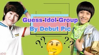 Can you guess the Kpop Idol group by their debut picture?