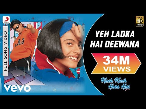 Yeh Ladka Hai Deewana - Kuch Kuch Hota Hai   Shahrukh Khan   Kajol