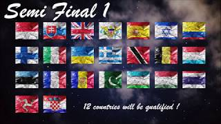 WINTER SONG CONTEST #1 - SEMI FINALS ALLOCATION DRAW - SAN MARINO