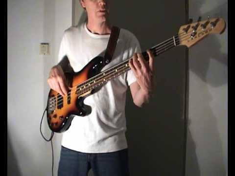 LTD - Back in Love Again - Bass Cover