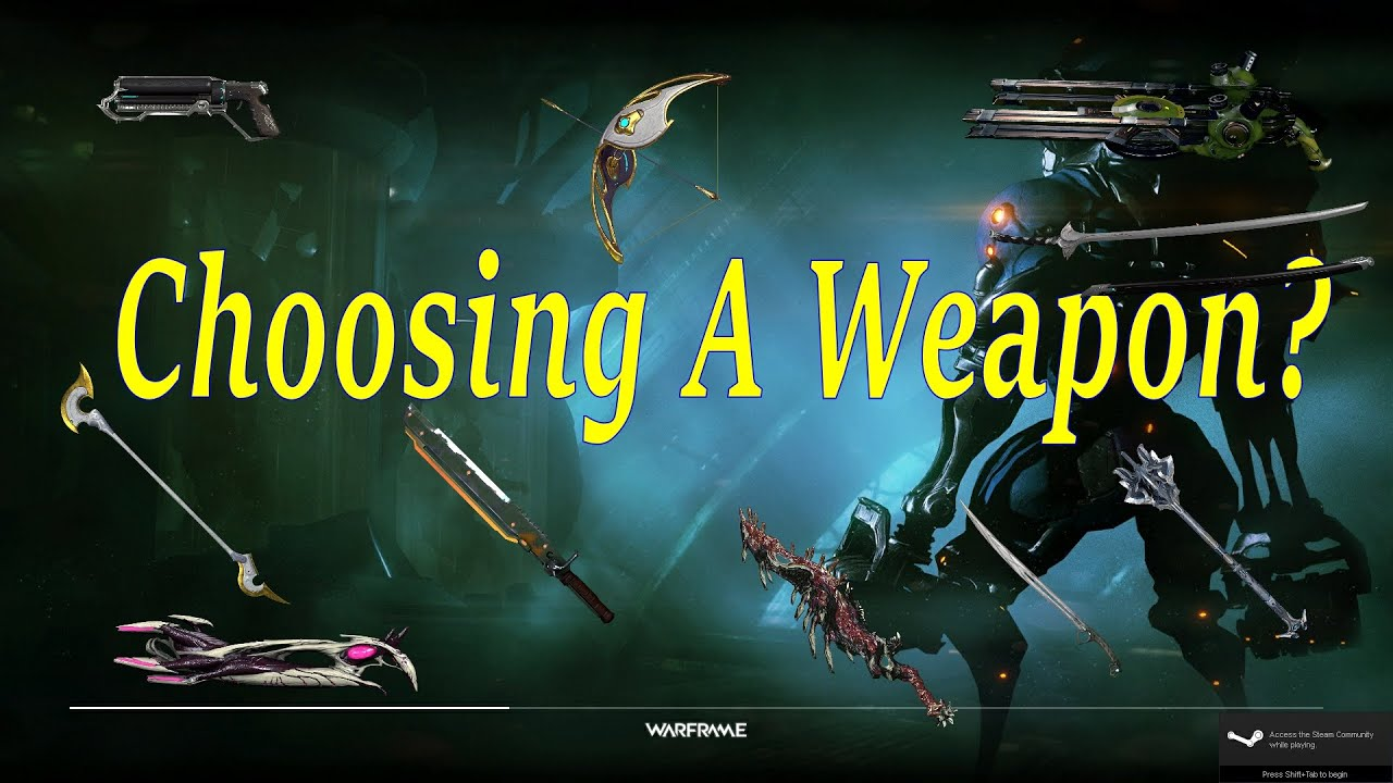 warframe how to get more weapon slots