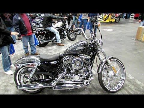 2014 Harley-Davidson Sportster XL1200V Seventy Two Walkaround - 2013 New York Motorcycle Show