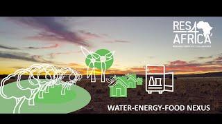 Water-energy-food nexus: join the partnership!