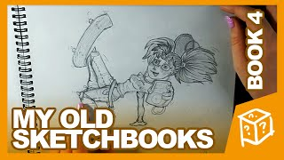 BOOK 4 (Age 14) -- My Old Sketchbooks (June 2008 - September 2008) - drawingwiffwaffles