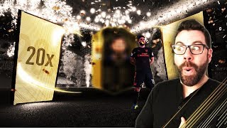 20 TOTW 14 and TOTW 15 GUARANTEED INFORM PACKS!!! FIFA 18 Ultimate Team