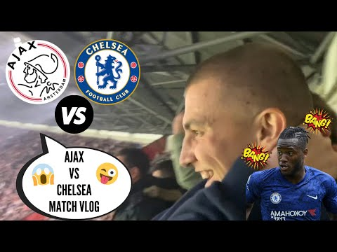 BATSHUAYI DOES IT AGAIN! CHELSEA GO WILD AT AJAX! AJAX vs CHELSEA (0-1) MATCH VLOG!